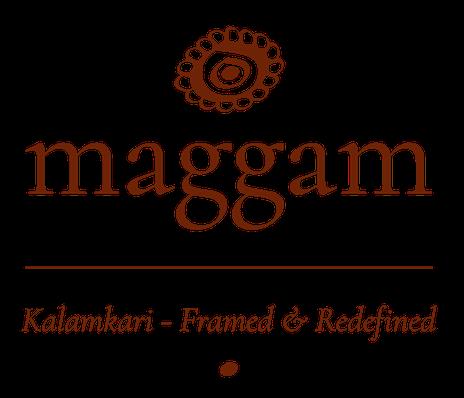 Maggam - Kalamkari - Framed & Redefined